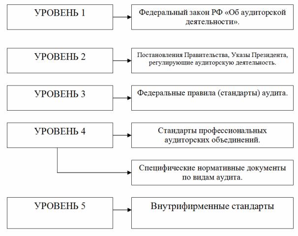 Правовое регулирование аудиторской деятельности дипломная работа 548